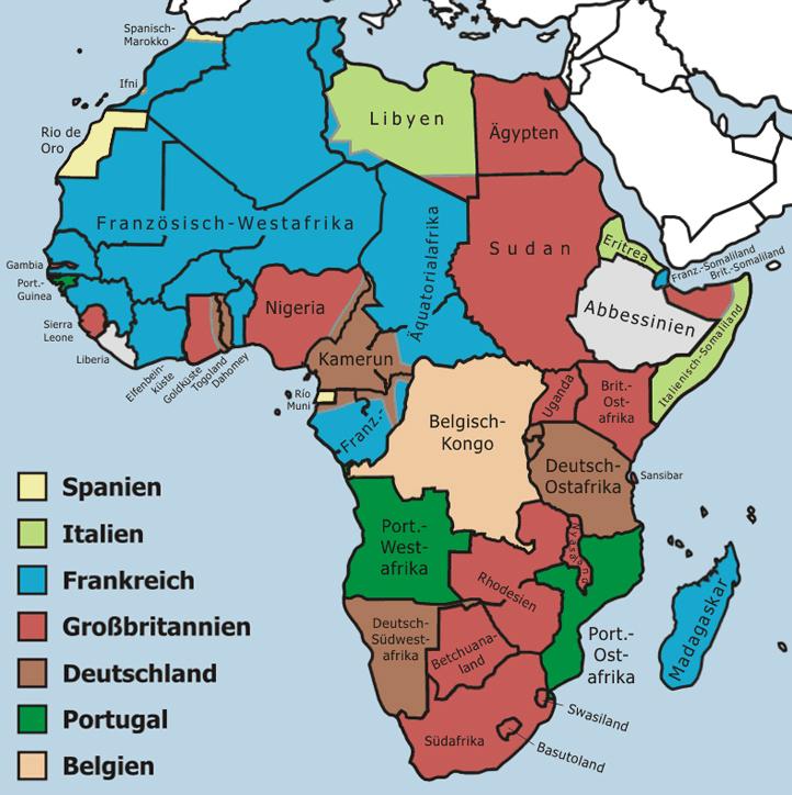 wie viele länder hat afrika